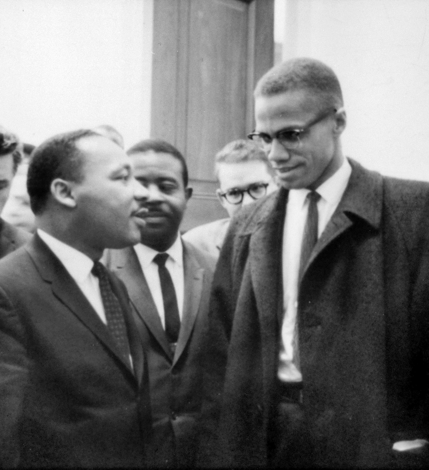 MLK and Malcolm X, 1964