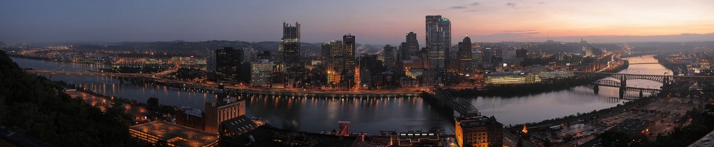Pittsburgh at dawn