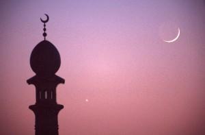 Islamic emblem crescent