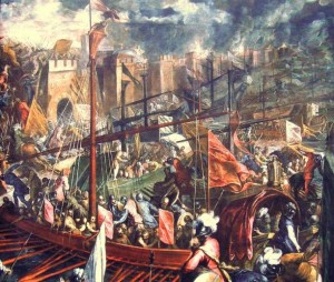 The Fourth Crusade and the Sacking of Constantinople