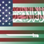 Saudi-Arabia-and-US-flags