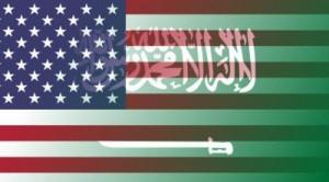 Saudi-Arabia-and-US-flags