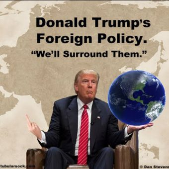 Can we talk foreign policy now?