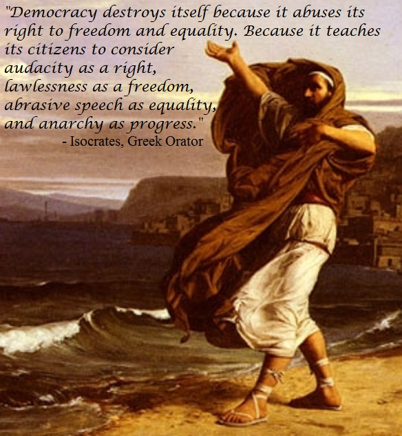 Isocrates on civility and threats to democracy