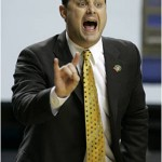 Former Pitt guard and current Arizona basketball coach, Sean Miller