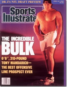 Tony Mandarich, 1989