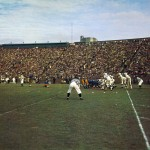 Pitt vs Pennstate at Pitt stadium, 1958
