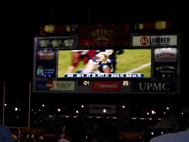 PItt vs Virginia Tech, 2003