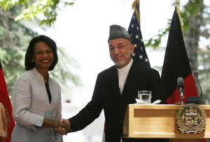 Secretary_Rice_With_Afghan_President_Hamid_Karzai