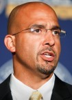 Penn State football head coach James Franklin